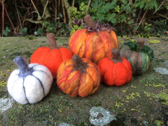 Needle Felted Pumpkin Workshop
