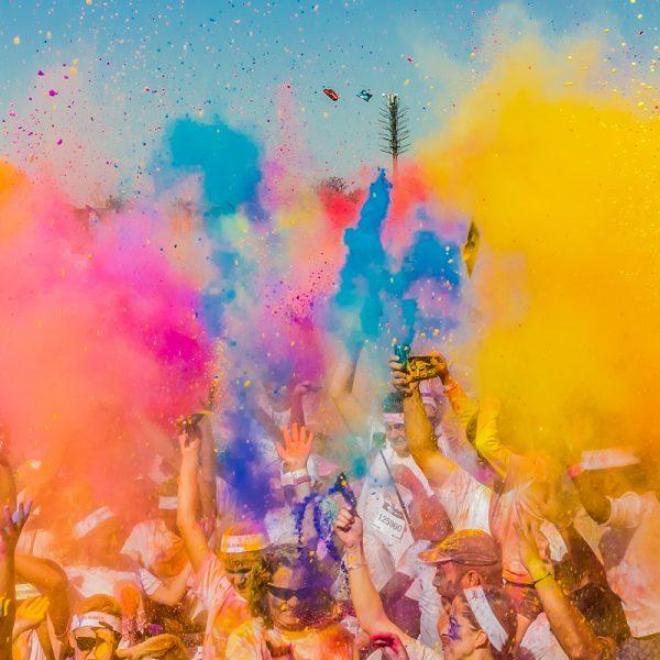Newmarket Festival Colour Fun