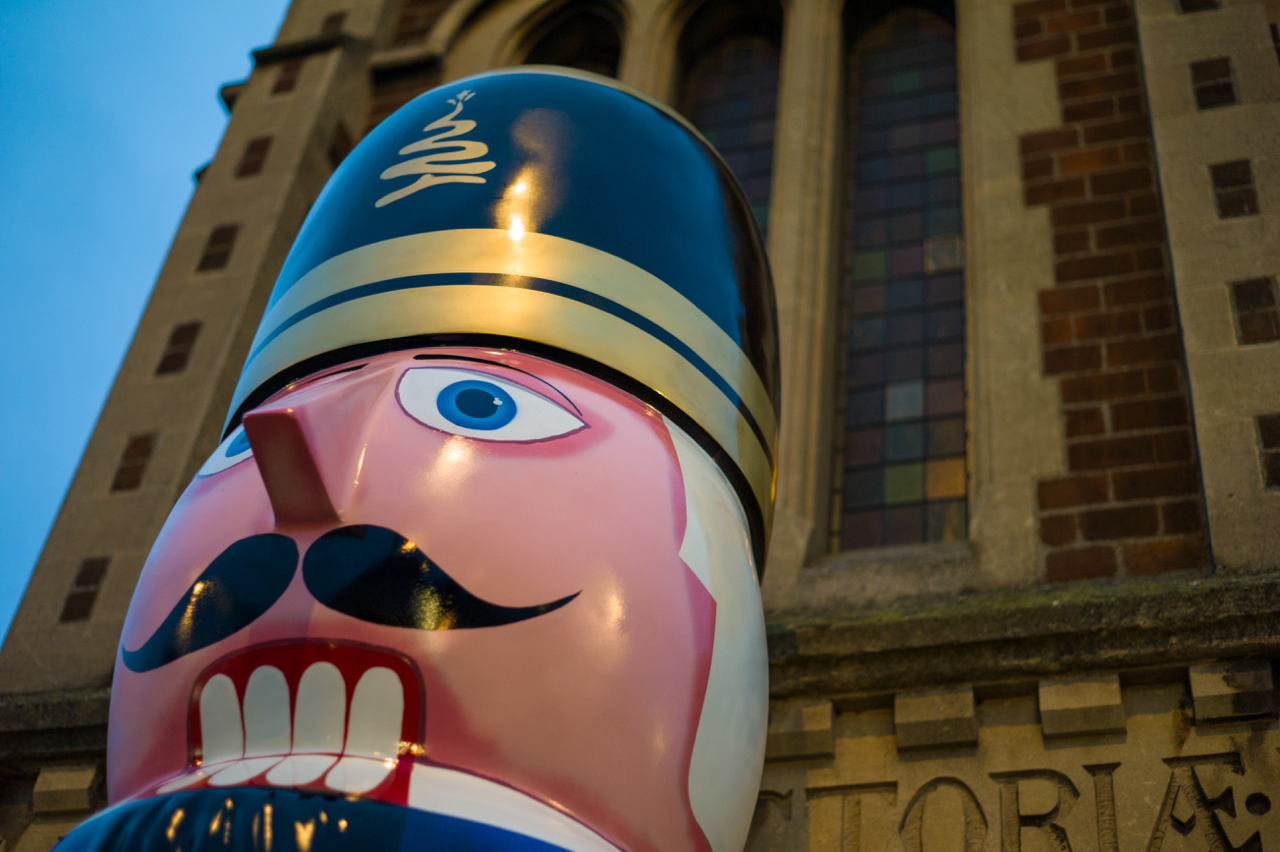 BID's Nutcrackers arrive in Newmarket
