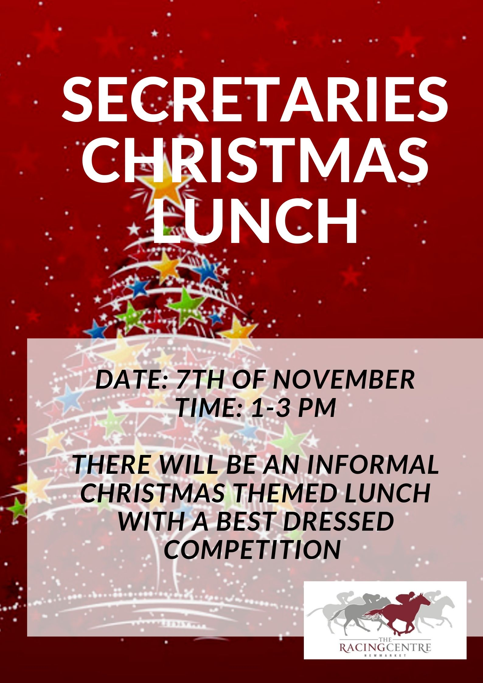 Secretaries Christmas Lunch