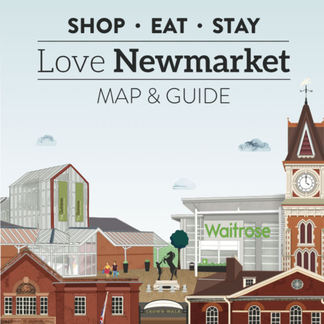 Shop, Eat & Stay – Love Newmarket Map & Guide