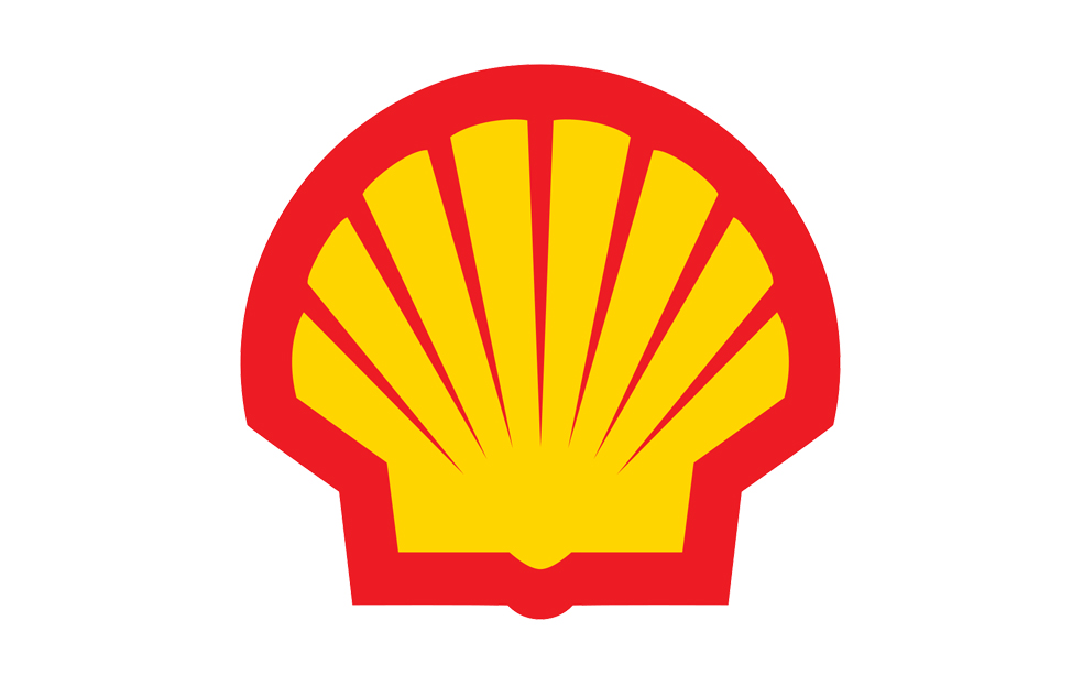 Shell Petrol Station Forecourt & Shop