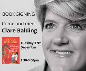 Book Signing With Clare Balding