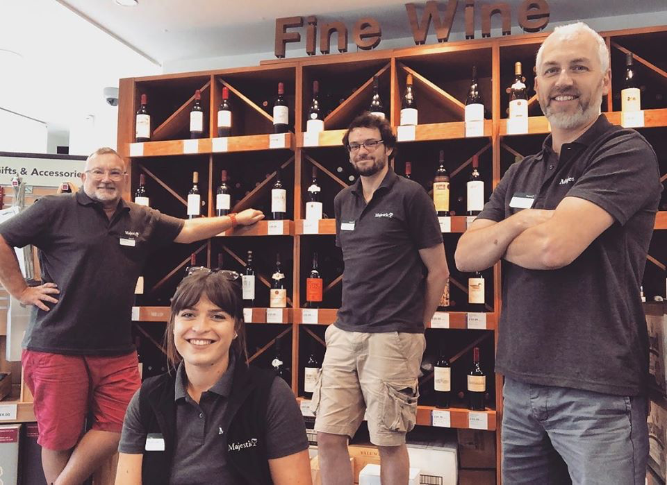 Majestic Wine Newmarket Reopens