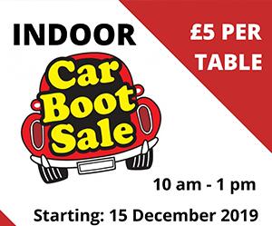 Indoor Car Boot Sales